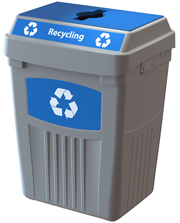 CleanRiver Transition® bin with single Recycling Stream